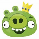 Angry Birds SuperShape Green King Pig Foil Balloon 23 in x 20 in