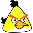 Angry Birds Yellow Bird Mouse Pad