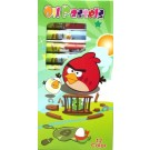 Angry Bird Oil Pastel Set - 12 colors