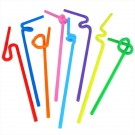 Artistic Bendy Straws - (Pack Of 25)