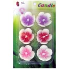 Assorted Floating Candles Design - 9 (Pack of 6)