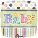Tiny Bundle Baby Shower Foil Balloon - 18""