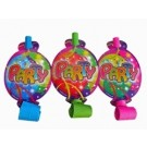 Balloon Party Blowouts (Pack Of 6)