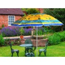 Portable Picnic / Garden Beach Umbrella With Stand ( Design -1)
