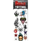 Biker Water Transfer Temporary Tattoos (Design - 1)