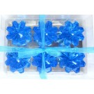 Blue Diamond Shaped Floating Candles (Pack of 6)