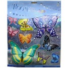 Beautiful Butterflies With Designs Wall Decor