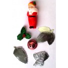 Christmas Cake Decorations (Pack Of 6)