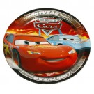 Cars Dessert Paper Plates 7 inch - Pack of 8