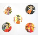 Chhota Bheem Pin Badges ( Pack of 5)