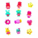 Colorful Plastic Kids Rings (Pack of 10)