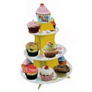 Cupcake Print Cupcake Stand For 16