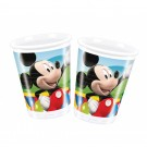 Mickey Mouse Plastic Cups (Pack Of 10)