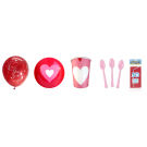 Love Crazy Ultimate Party Kit - Dining Items