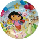 Dora Party Paper Plates (Pack of 10)