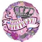 Happy Birthday Foil Balloon (Design - 2)