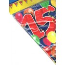 Birthday Flag Banner 15 Years Old
