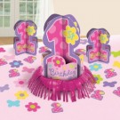 One-Derful Birthday Girl Table Decorative Kit