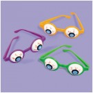 Halloween Eyeball Glasses (Pack Of 6)