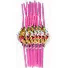 Hannah Montana Straws (Pack Of 12)