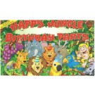 Happy Birthday Jungle Party Poster - Large