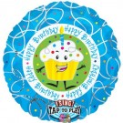 Happy Birthday Cupcake Singing Foil 28""