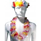 Hawaiian Tropical Sunset Flower Set