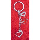 Elegant Valentine Key Chain Design-4