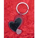 Stylish Red Heart Valentine Key Chain