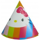 Hello Kitty Paper Cone Hats (Pack of 10)
