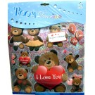 I Love You With Teddies Wall Decor