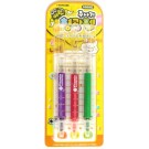 Injection Shape Color Pen( Set of 3)