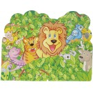 Smiling Safari Invitation Cards (Pack Of 10)