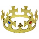 Kings Plastic Crown (Golden)