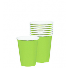 Kiwi Green Paper Cups (Pack Of 10)
