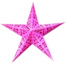 Celtic Star Lantern (Magenta) - 26""