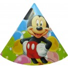 Mickey Mouse Party Hats Large - Pack of 10