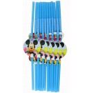 Mickey Mouse Straws (Pack Of 12)