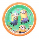 Minions Theme Paper Plates - Pack of 10