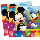 Mickey Mouse Party Napkins - Pack of 20