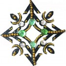 Crystal Navel Tattoo Jewel (Design - 18)