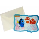 Nemo Party Invitation Cards With Envelopes (Pack Of 10)