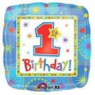 One-Derful Birthday Boy Party Foil Balloon