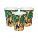 Jungle Party Paper Cups - Pack of 10