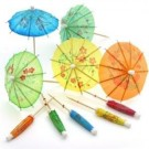 Cocktail Umbrella (Parasols) - Pack of 10