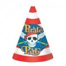 Pirate Party Hats -Pack of 10
