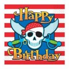Pirate Party Paper Napkins -Pack of 10