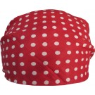 Red Bandana With White Dots