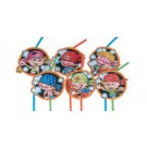 Little Pirate Party Straws -Pack of 8