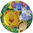 Safari Party Paper Plates -Pack of 8